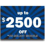 """""""Up to $2,500 OFF""""Lawn Signs"""