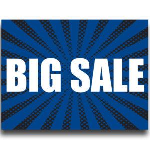 """Big Sale""Lawn Signs"
