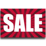 """[""""SALE""""] Large, Car Topper Foamcore Mounted Decals (14″x22″) 1"""