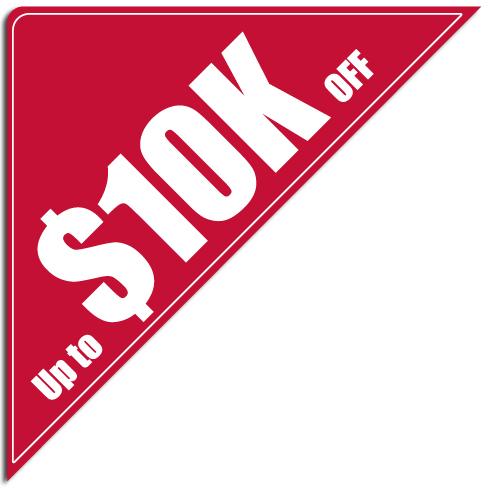 """[""""Up to $10,000 OFF""""] Standard, Corner Windshield Decals (12""""x12""""x17"""")"""