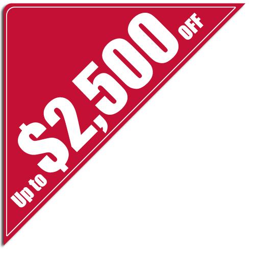 """[""""Up to $2,500 OFF""""] Standard, Corner Windshield Decals (12""""x12""""x17"""")"""
