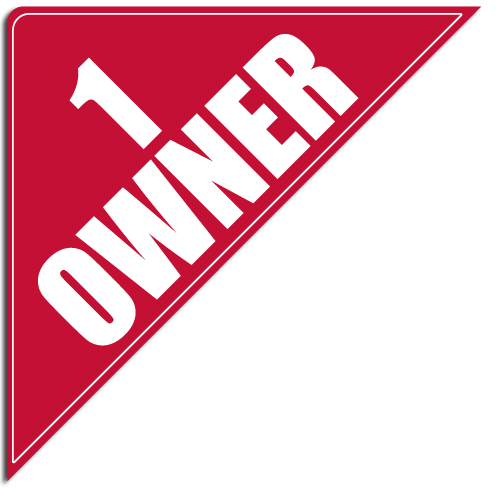 "[""1 Owner""] Standard, Corner Windshield Decals (12""x12""x17"")"
