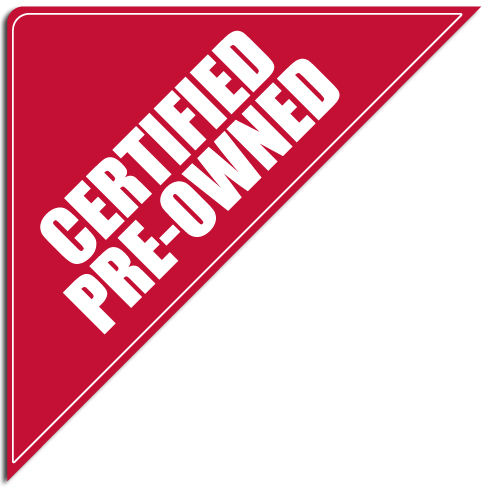 "[""Certified Preowned""] Standard, Corner Windshield Decals (12""x12""x17"")"