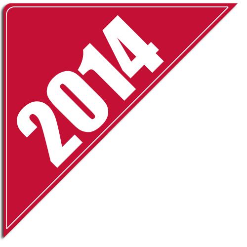 """[""""2014""""] Standard, Corner Windshield Decals (12""""x12""""x17"""")"""