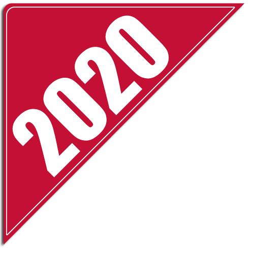 """[""""2020""""] Standard, Corner Windshield Decals (12""""x12""""x17"""")"""