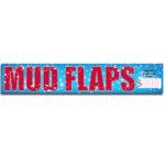 """[""""Mud Flaps""""] Standard, Half Windshield Decals (4""""x22"""")"""