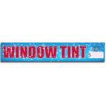 "[""Window Tint""] Standard, Half Windshield Decals (4""x22"")"