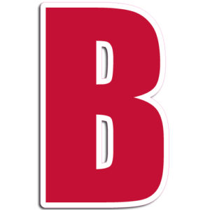 [B] Impact Vinyl Letter