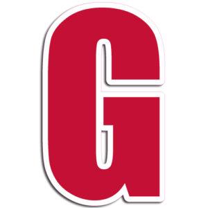 [G] Impact Vinyl Letter