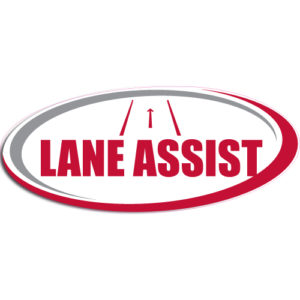 "[""Lane Assist""] Standard, Oval Decals (6""x14"")"