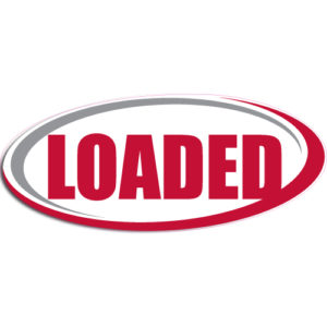 "[""Loaded""] Standard, Oval Decals (6""x14"")"