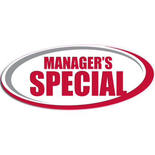 """[""""Manager's Special""""] Standard, Oval Decals (6""""x14"""")"""