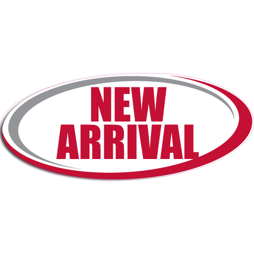 """[""""New Arrival""""] Standard, Oval Decals (6""""x14"""")"""