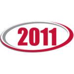 "[""2011""] Standard, Oval Decals (6""x14"")"