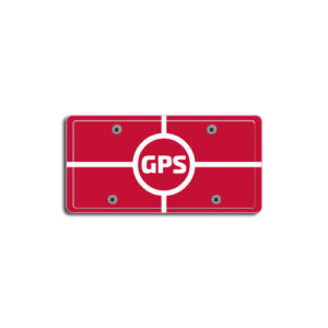 """""""GPS""""Plate Decals"""