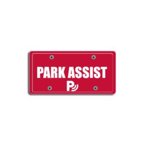 """Park Assist""Plate Decals"