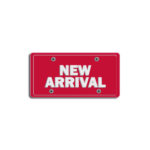 """""""New Arrival""""<br/>Plate Decals 1"""