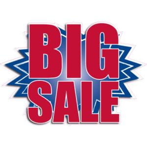 """[""""Big Sale""""] Standard, Starburst Decals (14""""x20"""")"""