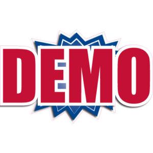 """[""""Demo""""] Standard, Starburst Decals (14""""x20"""")"""