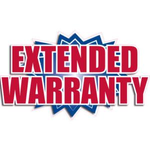 """[""""Extended Warranty""""] Standard, Starburst Decals (14""""x20"""")"""