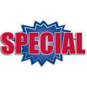 """[""""Special""""] Standard, Starburst Decals (14""""x20"""")"""