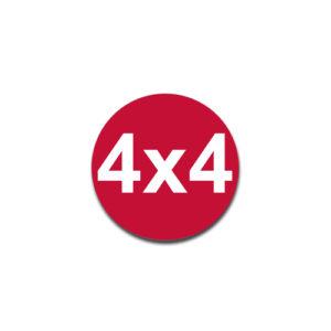 """""""4X4"""" Badge Decals"""