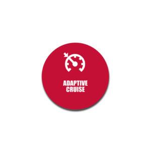"""Adaptive Cruise"" Badge Decals"