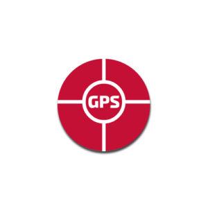 """""""GPS"""" Badge Decals"""