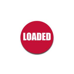 """""""Loaded"""" Badge Decals"""